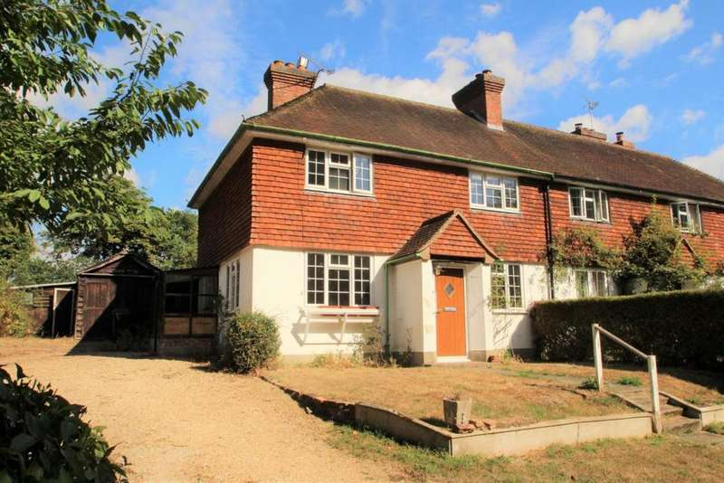 2 Bedrooms Semi Detached House for sale in Hollybush Lane, Burghfield Common, RG7