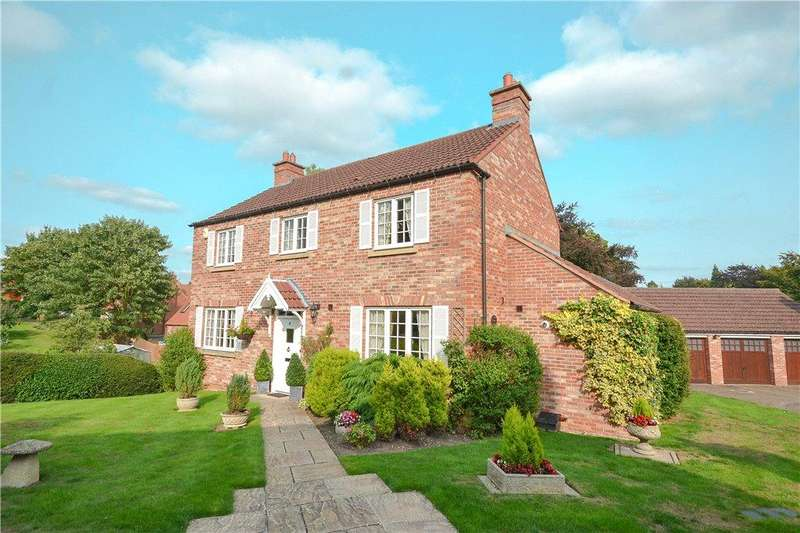 4 Bedrooms Detached House for sale in The Old Orchard, Hutton Rudby, Yarm, North Yorkshire