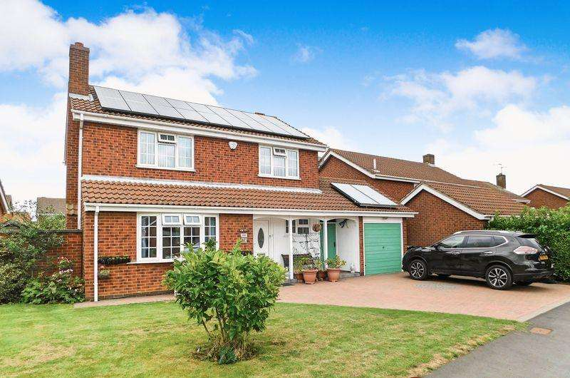 4 Bedrooms Detached House for sale in Winchester Road, Grantham
