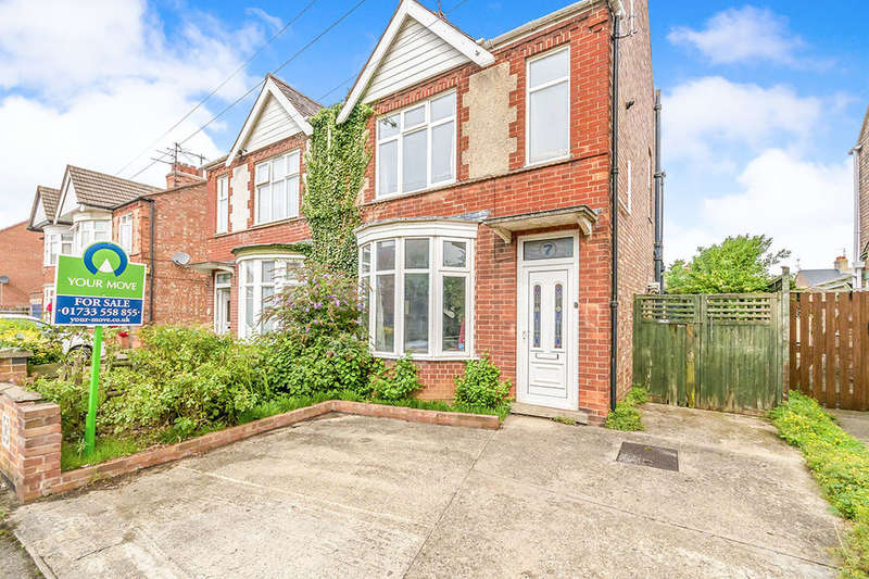 2 Bedrooms Semi Detached House for sale in Orme Road, Peterborough, PE3