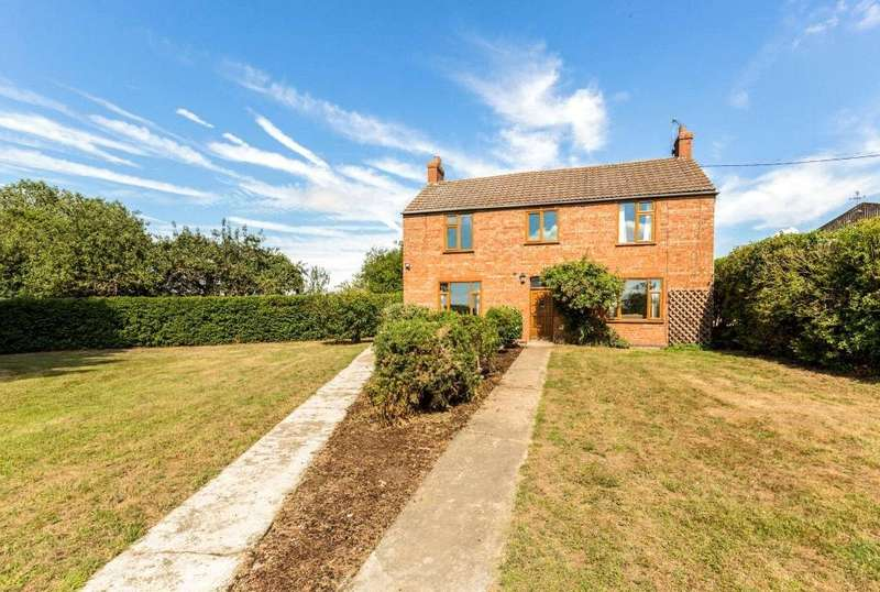 4 Bedrooms Detached House for sale in Furze Farm, Moor Lane, Horsington, Woodhall Spa, LN10
