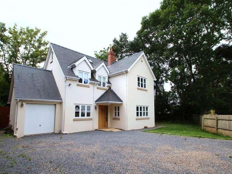 5 Bedrooms Detached House for sale in Llantrisant, Usk,