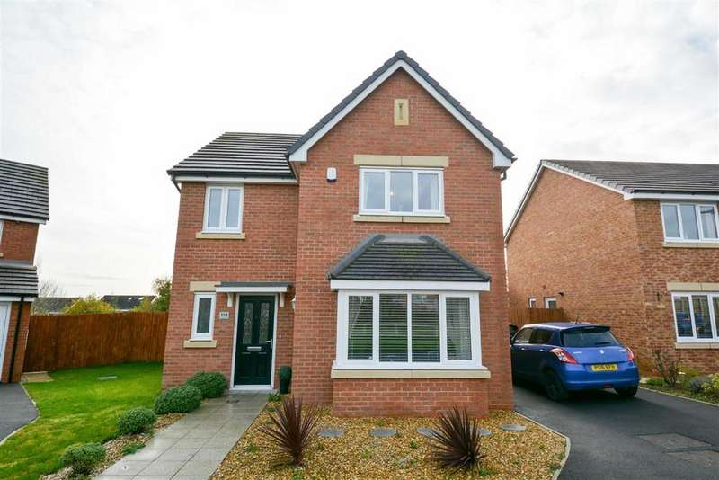 4 Bedrooms Detached House for sale in Meadow Brook, Pemberton, Wigan, WN5