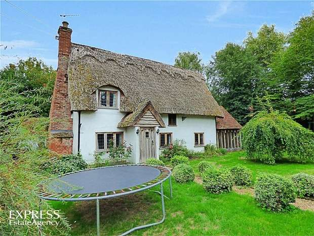 4 Bedrooms Cottage House for sale in Church Lane, Thwaite, Eye, Suffolk