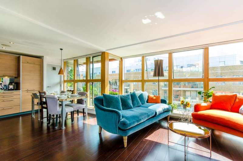 2 Bedrooms Flat for sale in Andersens Wharf, Limehouse, E14