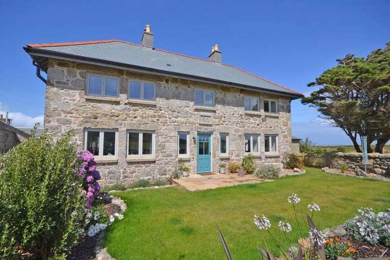 4 Bedrooms Semi Detached House for sale in Trowan, St Ives, West Cornwall, TR26