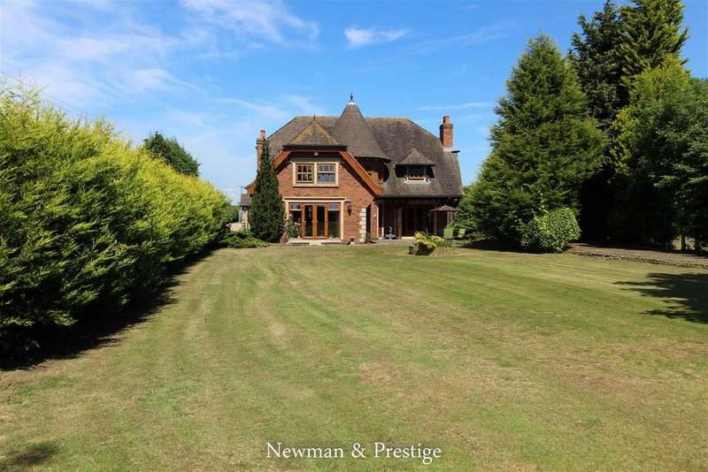 4 Bedrooms Detached House for sale in Withybrook Road, Nr Wolvey.
