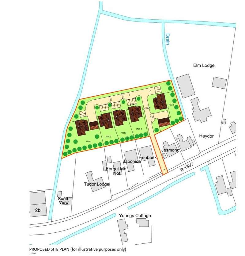 Land Commercial for sale in Spalding Road, Sutterton, PE20