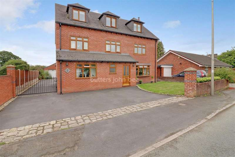 5 Bedrooms Detached House for sale in Moors Lane, Winsford