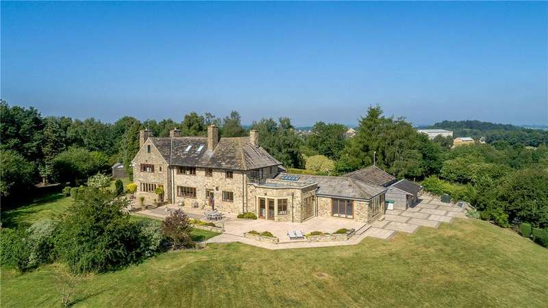 6 Bedrooms Detached House for sale in Wigton Manor, Manor House Lane, Alwoodley, West Yorkshire, LS17