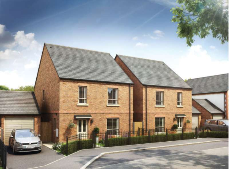 4 Bedrooms Detached House for sale in Plot 119, The Middleton, Castle Croft, Startforth, Co Durham