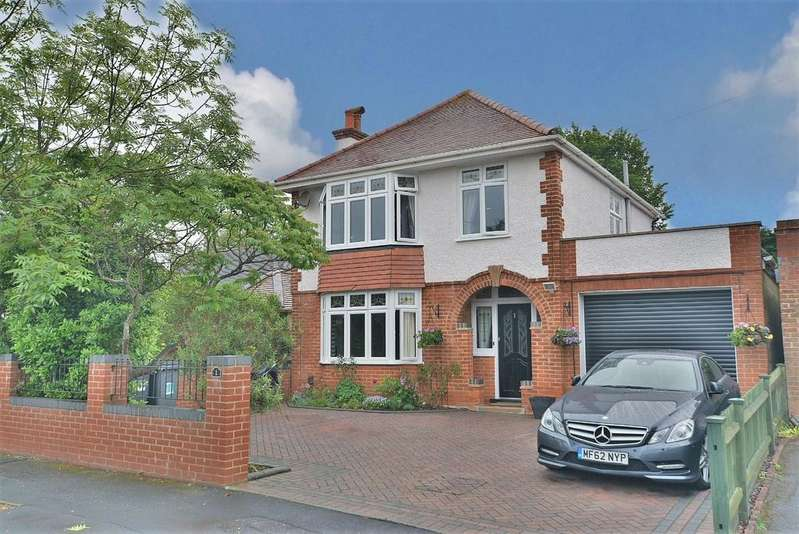 3 Bedrooms Detached House for sale in Brightlands Avenue, Bournemouth