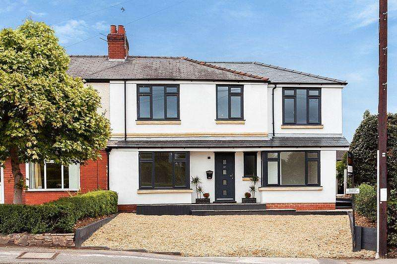 4 Bedrooms Semi Detached House for sale in Lower Heath, Congleton