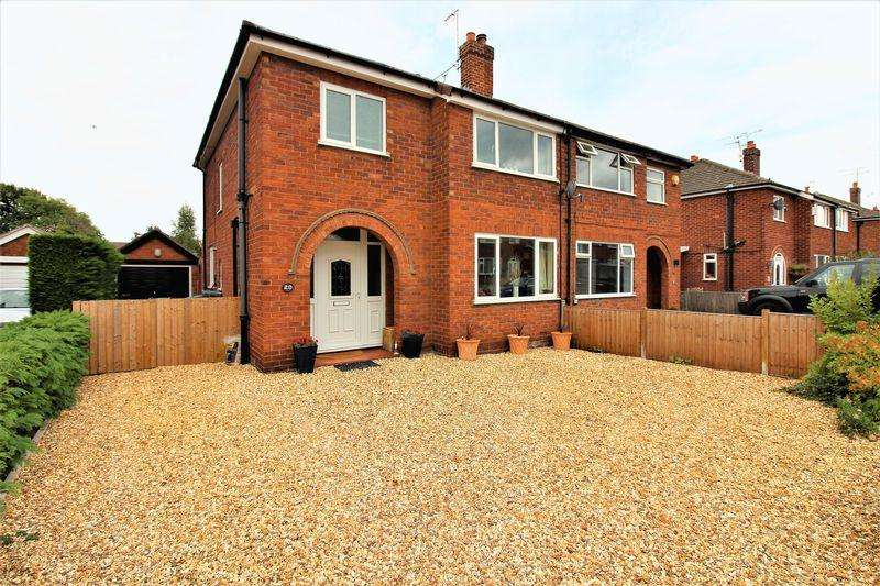 3 Bedrooms Semi Detached House for sale in Boughton Hall Drive, Great Boughton, Chester