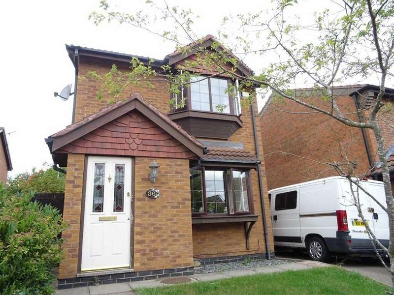 3 Bedrooms Detached House for sale in The Poplars, Earl Shilton