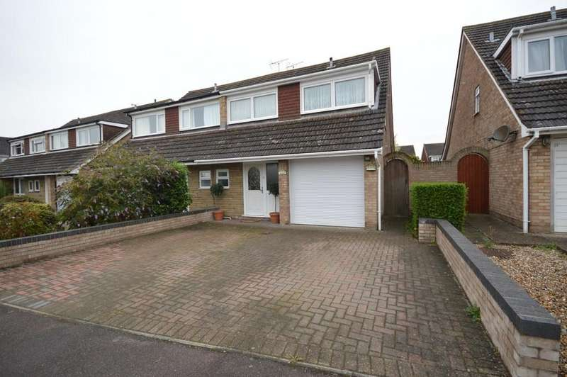 4 Bedrooms Semi Detached House for sale in Miles Close, Stanway