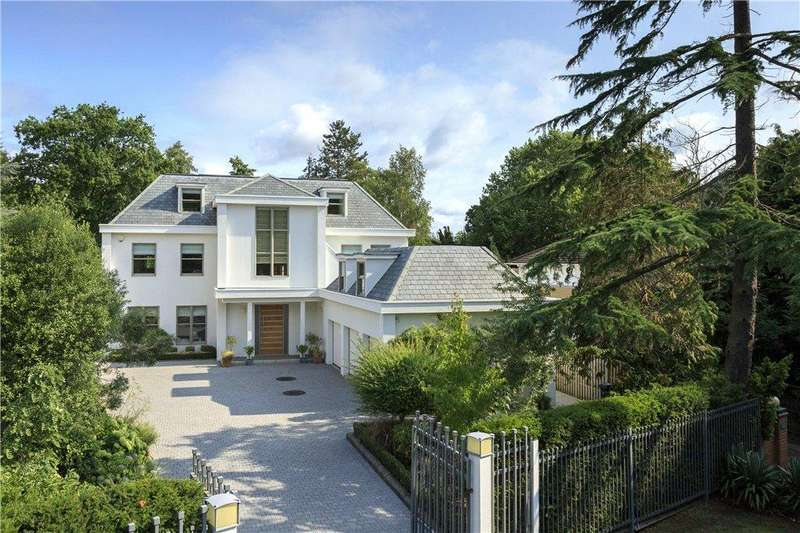 6 Bedrooms Detached House for sale in Coombe Ridings, Kingston Hill, KT2