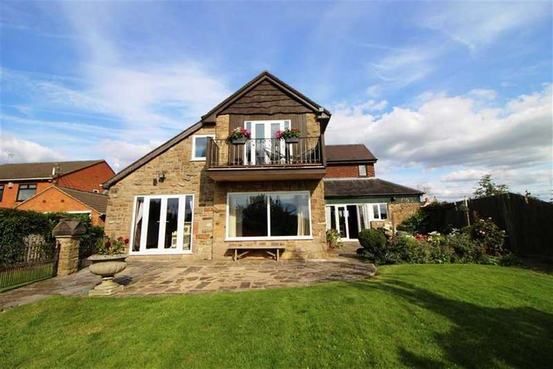 4 Bedrooms Detached House for sale in Old Road, Heage, Derbyshire