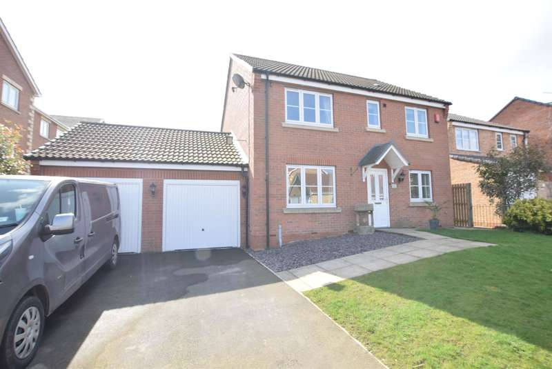 4 Bedrooms Detached House for sale in Dunlin Drive, Scunthorpe, DN16 3UZ