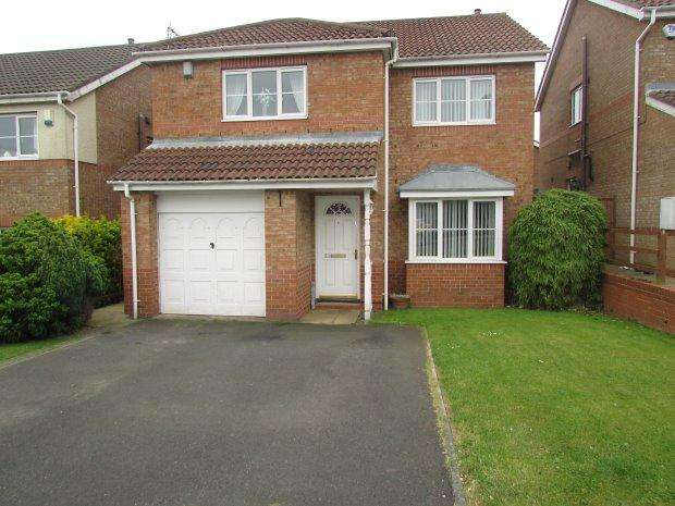 4 Bedrooms Detached House for sale in TAVISTOCK CLOSE, HIGHFIELDS, HARTLEPOOL