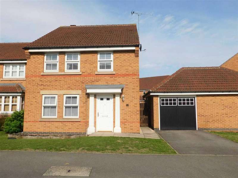 4 Bedrooms Detached House for sale in WILKINSON WAY, BOTTESFORD, SCUNTHORPE