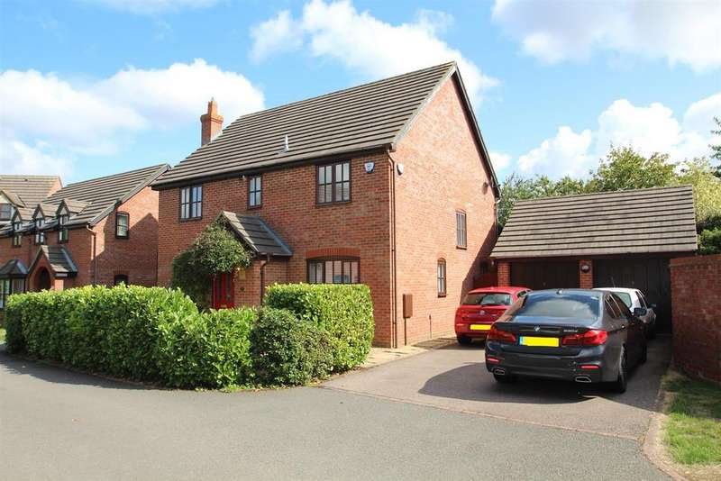 4 Bedrooms Detached House for sale in Angora Close, Shenley Brook End, Milton Keynes