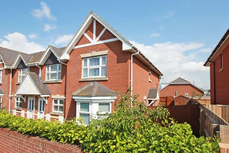 2 Bedrooms End Of Terrace House for sale in Wilmar Close, Christchurch