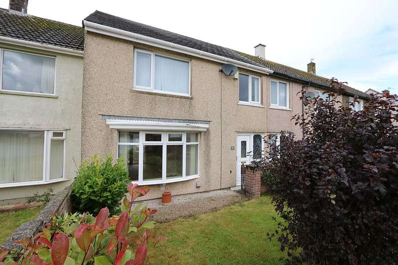 3 Bedrooms Terraced House for sale in Criffel Road, Parton, Whitehaven, Cumbria, CA28 6RH