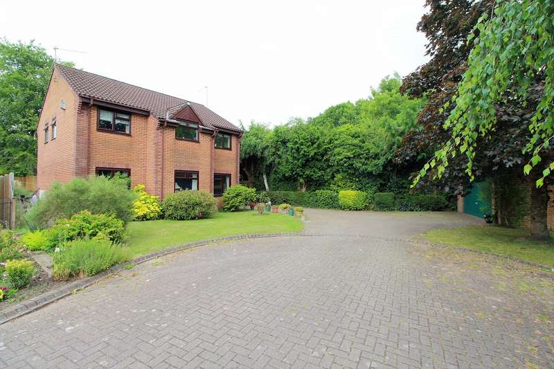 4 Bedrooms Detached House for sale in Llwyn On, Ponthir, Newport, NP18