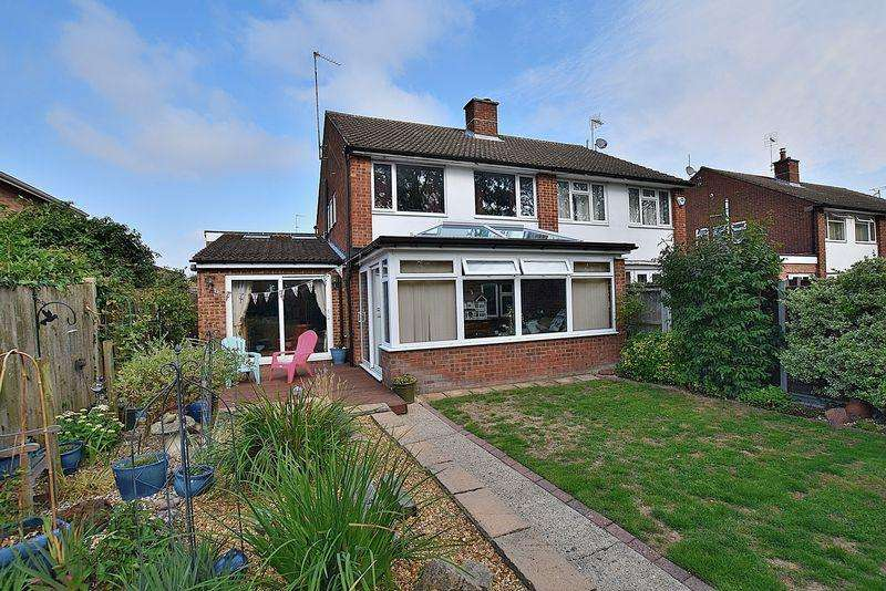 3 Bedrooms Semi Detached House for sale in Cartmel Drive, South West Dunstable