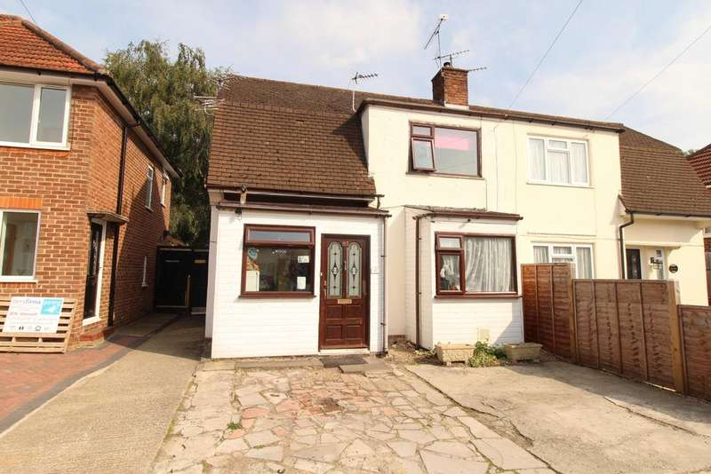 2 Bedrooms Semi Detached House for sale in Blandford Road, Reading, RG2 8RR