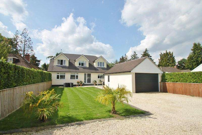5 Bedrooms Detached House for sale in Manor Road, Verwood