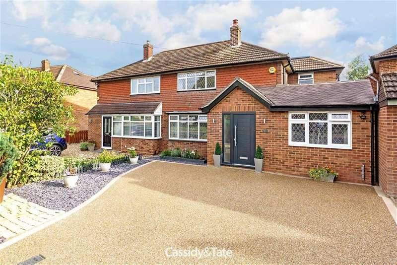 4 Bedrooms Semi Detached House for sale in Butterfield Road, Wheathampstead, Hertfordshire