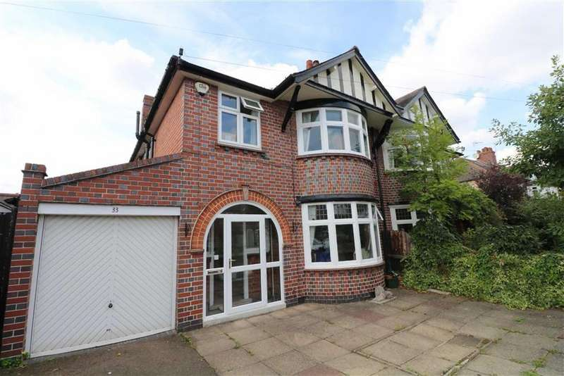 3 Bedrooms Semi Detached House for sale in Craighill Road, Clarendon Park, Leicester