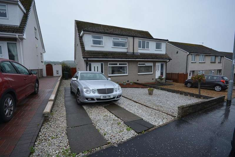 3 Bedrooms Semi Detached House for sale in Belvedere View, Galston, KA4