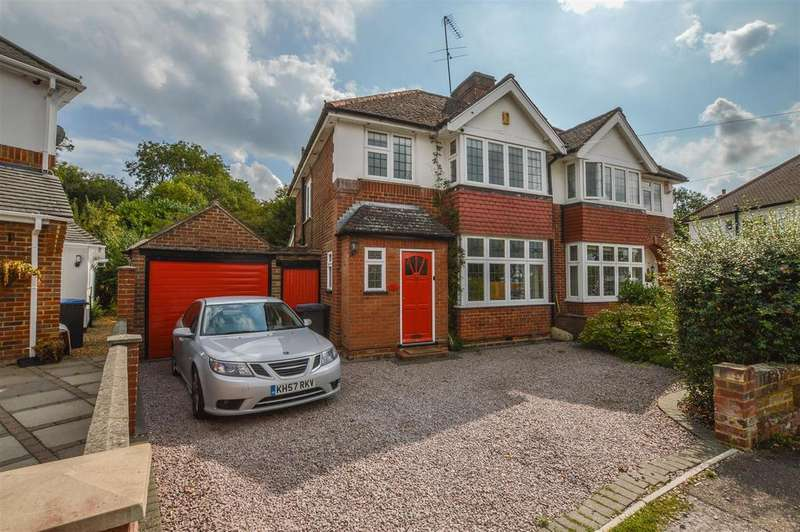 3 Bedrooms Semi Detached House for sale in Selwyn Crescent, Hatfield, AL10