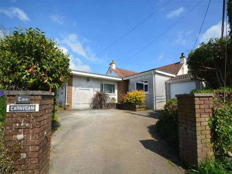4 Bedrooms Detached Bungalow for sale in Trevingey Road, Trevingey, REDRUTH, Cornwall