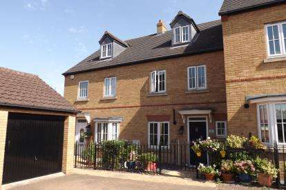 4 Bedrooms Terraced House for sale in Greens Close, Sandy, Bedfordshire