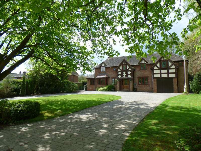 5 Bedrooms Detached House for sale in Private road, Tanners Green, Wythall, Worcester, B47 6BH