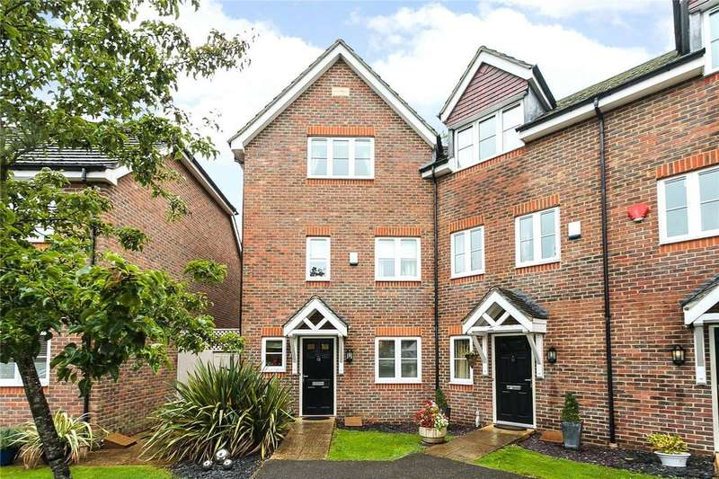 3 Bedrooms End Of Terrace House for sale in Buckingham Gate, Emmer Green, Reading, RG4