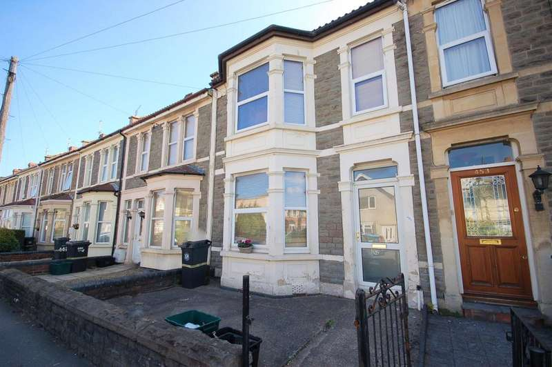 3 Bedrooms Terraced House for sale in Soundwell Road, Kingswood, Bristol BS15 1JT