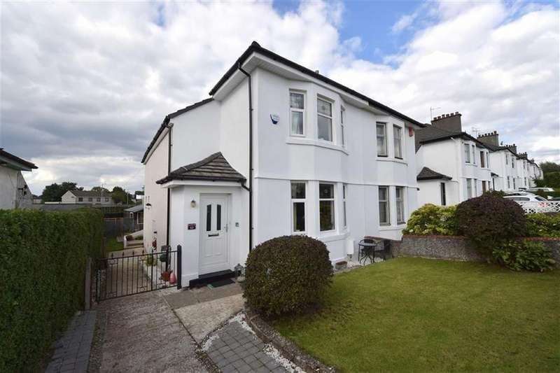 3 Bedrooms Semi Detached House for sale in Gallowhill Road, Paisley