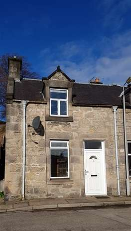 2 Bedrooms Semi Detached House for sale in Breich Street, Rothes, Aberlour