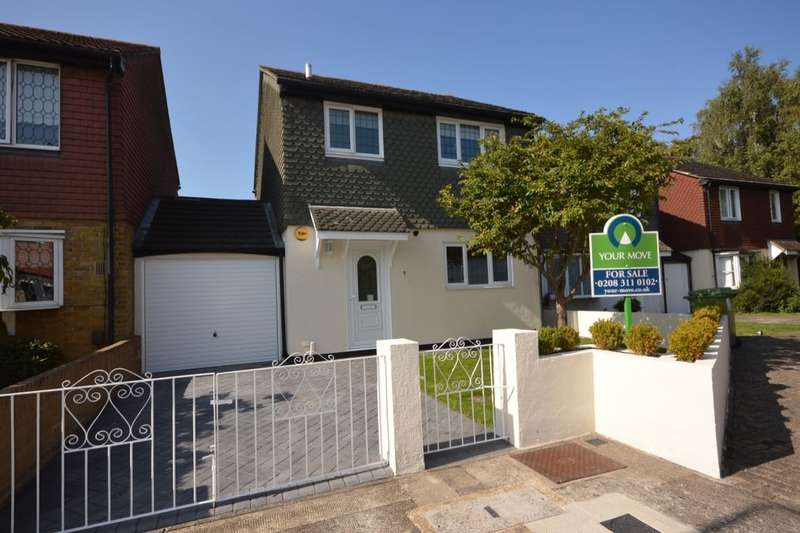 3 Bedrooms Detached House for sale in Campion Place, Central Thamesmead, London, SE28