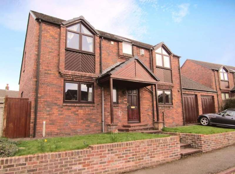 4 Bedrooms Detached House for sale in 21 Ash Lea, Brampton, Cumbria