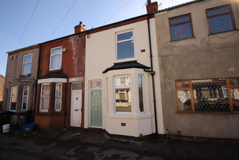 2 Bedrooms Terraced House for sale in Cookson Street, Nottingham, NG17