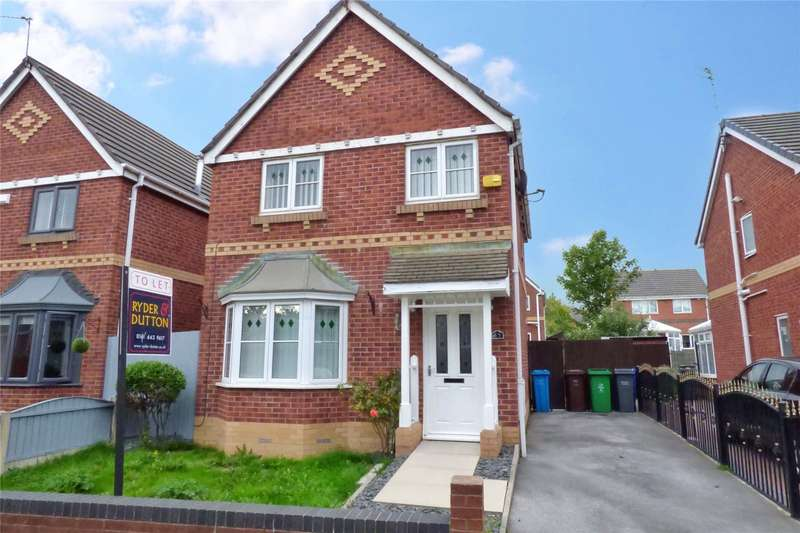 3 Bedrooms Detached House for sale in Topcliffe Road, Blackley, Manchester, M9