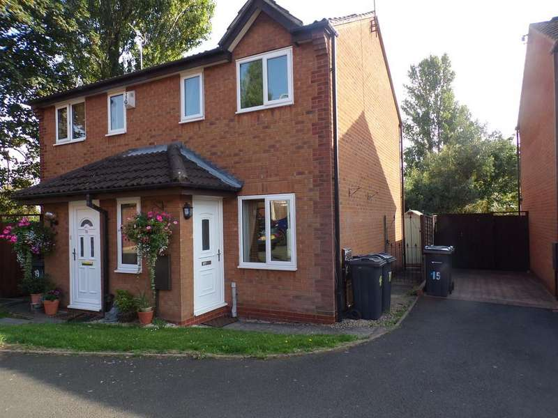 2 Bedrooms Semi Detached House for sale in Martin Close , Yardley