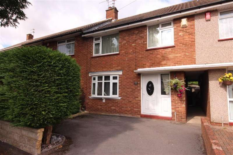 3 Bedrooms Terraced House for sale in The Folly, Downend, Bristol, BS16 6RE
