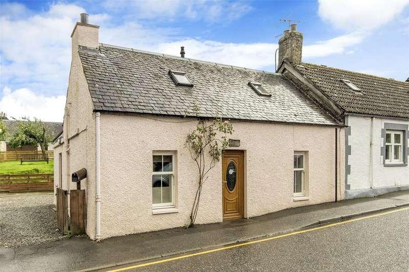 2 Bedrooms End Of Terrace House for sale in Rose Cottage, Main Street, Killin, Stirlingshire, FK21